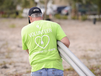 FPL employees volunteering in the 2013 Power to Care home building projects for low-income families in need of a decent for Habitat for Humanity in Jupiter, Fla., March 9, 2012.,FPL employees volunteering in the 2013 Power to Care home building projects for low-income families in need of a decent for Habitat for Humanity in Jupiter, Fla., March 9, 2012.
